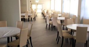 pavimento resiliente per la ristorazione